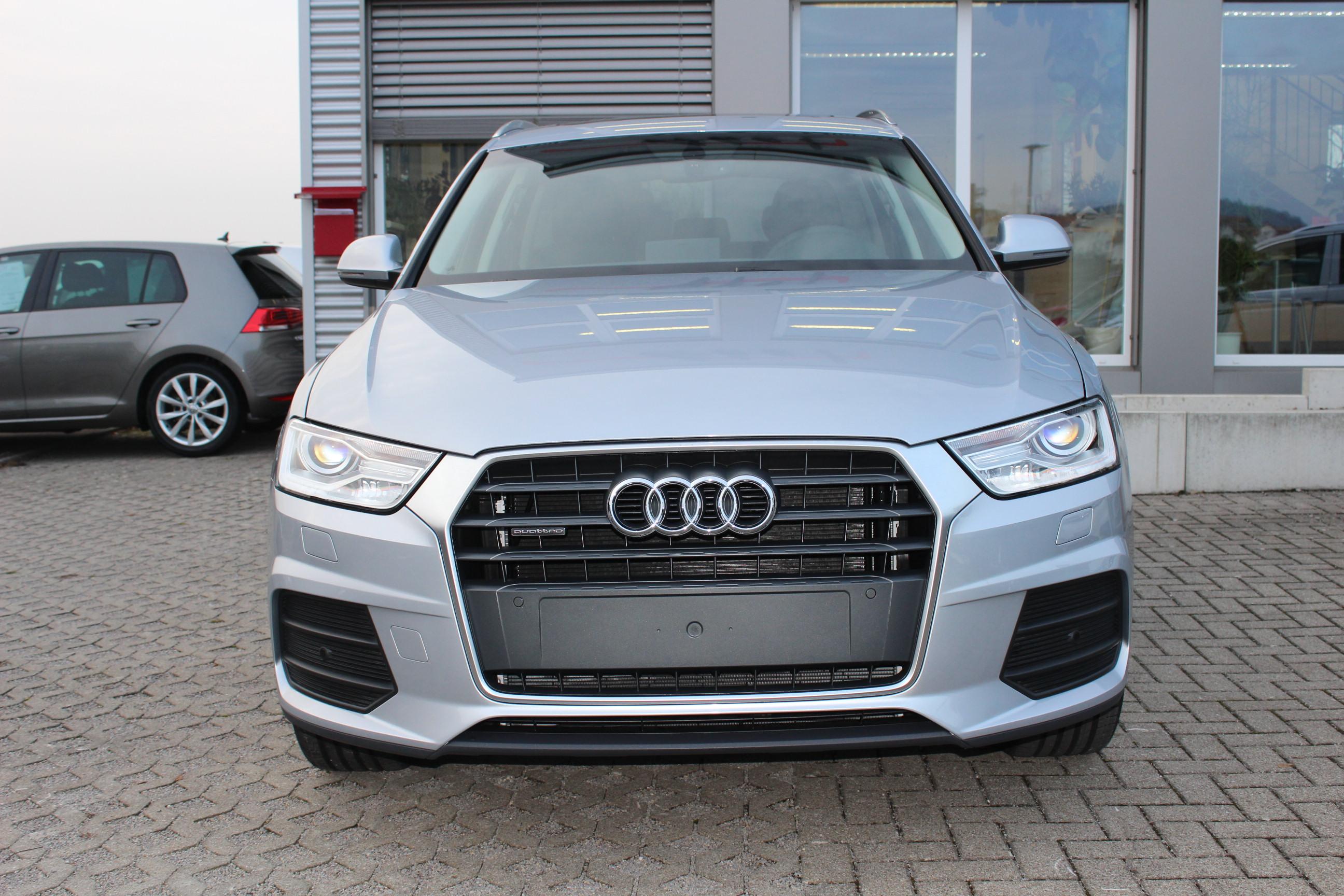 Audi Q3 2.0 TDI quattro allrad S-Tronic (Automatik) / Deutsche Neufahrzeuge und EU-Neufahrzeuge – Aha! Fahrzeughandel GmbH in Althengstett