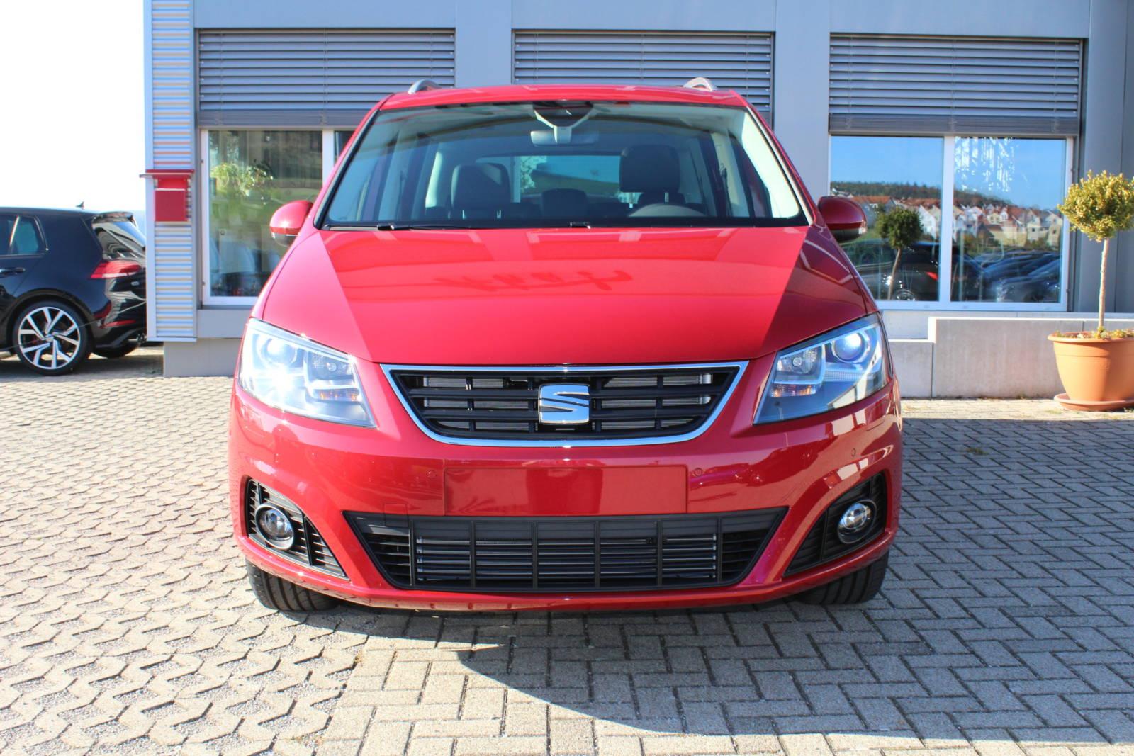 Seat Alhambra Style 1.4 TSI DSG / Deutsche Neufahrzeuge und EU-Neufahrzeuge – Aha! Fahrzeughandel GmbH in Althengstett