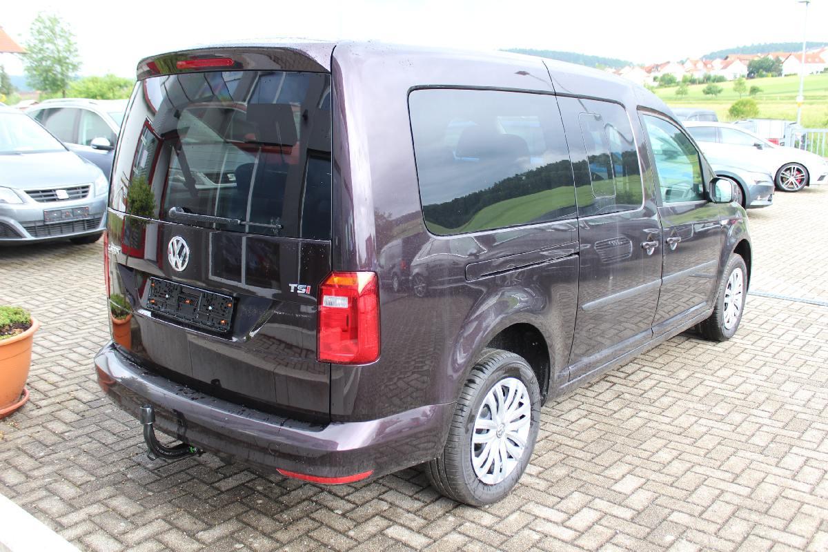 VW Caddy Maxi Trendline 1.4 TSI 6-Gang / Deutsche Neufahrzeuge und EU-Neufahrzeuge – Aha! Fahrzeughandel GmbH in Althengstett
