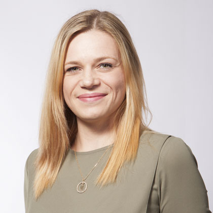 Claudia Salkic - Assistentin der Geschäftsleitung